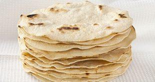 صور طريقة صنع خبز التورتيلا
