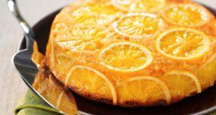 صور كيكة البرتقال