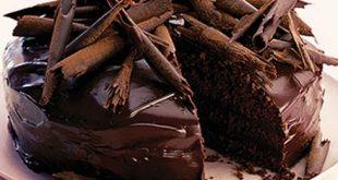 صور طريقة عمل كيكة الشيكولاتة