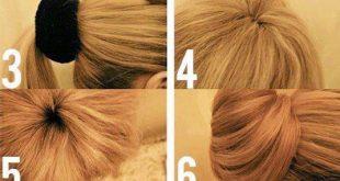 تسريحات الشعر سهلة
