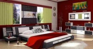 اجمل ديكورات غرف النوم الحديثه