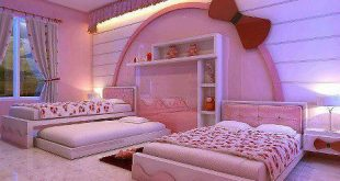 غرف نوم للبنات 2019