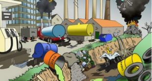 صوره اضرار التلوث البيئي