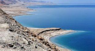 اين يقع البحر الميت
