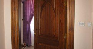 ديكورات ابواب خشب داخلية
