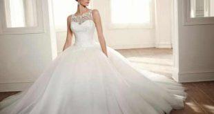 اجمل فساتين زفاف رائعة