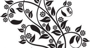 صور زخرفة نباتية سهلة الرسم