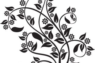 صوره زخرفة نباتية سهلة الرسم