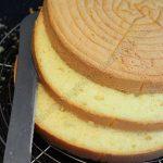 طريقة عمل الكيكة الاسفنجية بالصور , تحضير الكيك