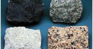 انواع الصخور البركانية