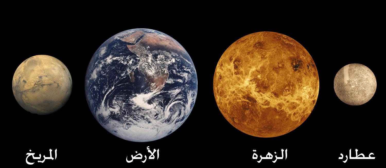 صور توابع الكواكب واعدادها