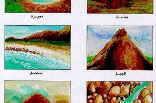 صور تعريف التلال , درس في الجغرافيا