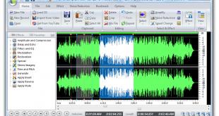 صورة برنامج تعديل مقاطع الصوت