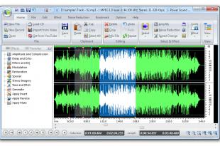 صور برنامج تعديل مقاطع الصوت
