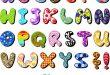 صور حروف انجليزية مزخرفة , للكتابة المزخرفة
