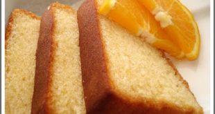 صور طريقة عمل كيكة البرتقال