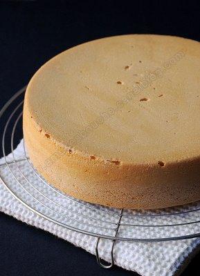 الكيكة الاسفنجية بالصور