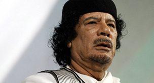 صور كيفية القبض على معمر القذافي