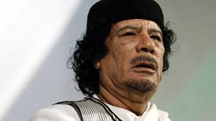كيفية القبض على معمر القذافي