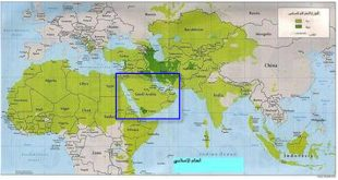 ما اكبر دولة عربية مساحتا