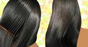 تنعيم الشعر بطرق صحية فعالة