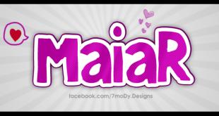 معنى اسم ميار في اللغة العربية
