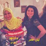 صور للفنانة وفاء عامر وعائلاتها