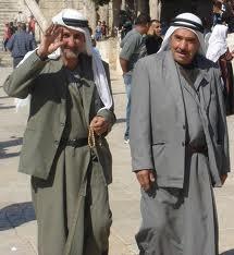 ملابس التراث في فلسطين للرجال
