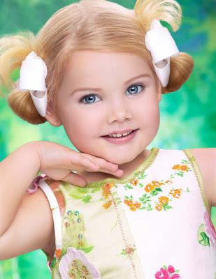 اجمل طفلة في العالم , ملكة جمال العالم