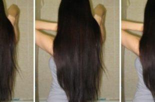 صور خلطات لتطويل الشعر