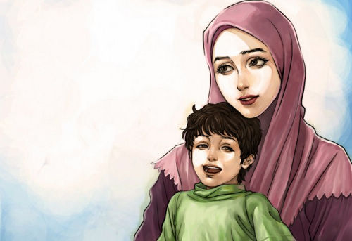 صور موضوع تعبير عن الام