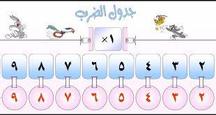 طريقة حفظ جدول الضرب 2