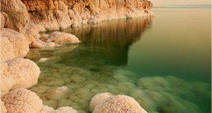 الموقع الجغرافي للبحر الميت