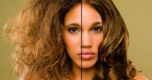 حل مشكلة الشعر الجاف