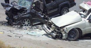 مقال صحفي عن حادث مرور