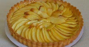 صنع الطرط بالتفاح