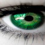 قصيده بالعيون الخضراء
