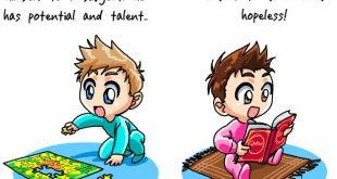 موضوع انجليزي عن الاطفال