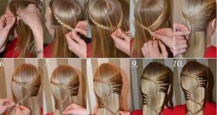 تسريحات شعر للاطفال خطوه بخطوه