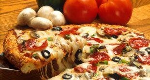 صور طريقة عمل البيتزا