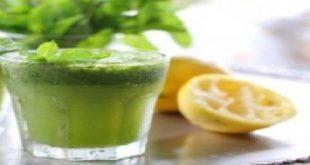 صورة طريقة عمل عصير النعناع والليمون