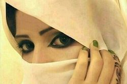 صورة عبارات جميلة عن العين السوداء