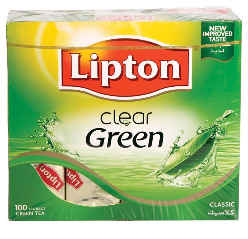 صور افضل انواع الشاي الاخضر ليبتون