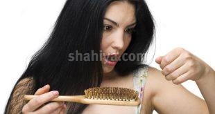 صورة وصفة لسقوط الشعر