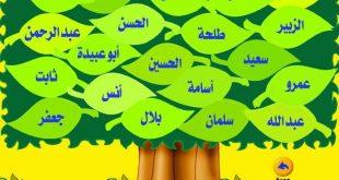 صورة اسماء 10 مبشرين بالجنة