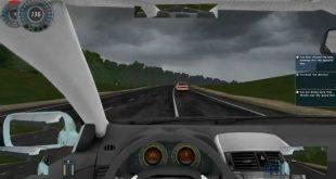 لعبة تعليم السياقة الحقيقية