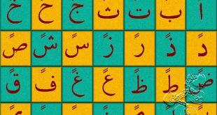 صور حروف عربية مشكولة
