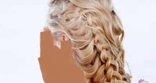 صورة اخر تسريحات الشعر الطويل