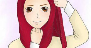 صور طرق عمل الحجاب