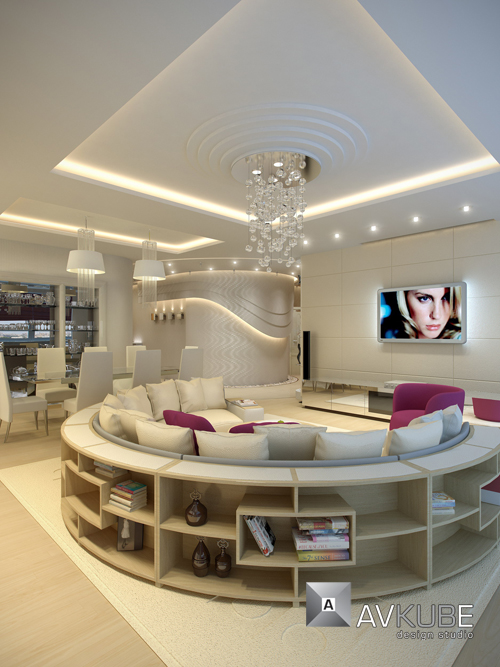 صور افضل تصميم شقة